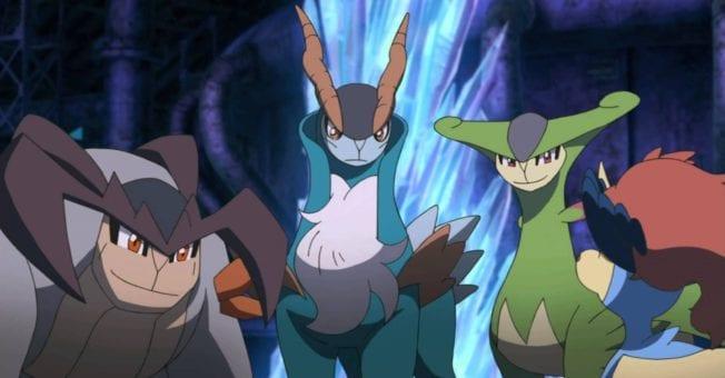 Pokémon Keldeo Viridium Kobalium Terrakium
