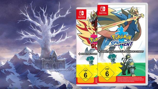 Pokémon-Erweiterung Schwert und Schild - Die Schneelande der Krone