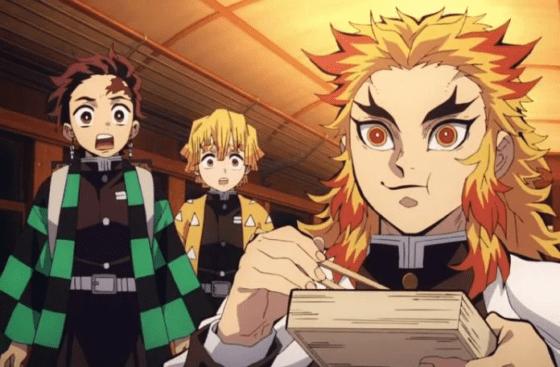 Rengoku aus Demon Slayer, Anime