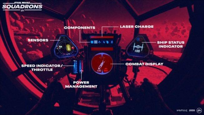 Star Wars Squadrons - Taktische Vielfalt im Cockpit