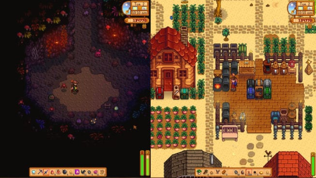 Stardew Valley Splitscreen-Koop
