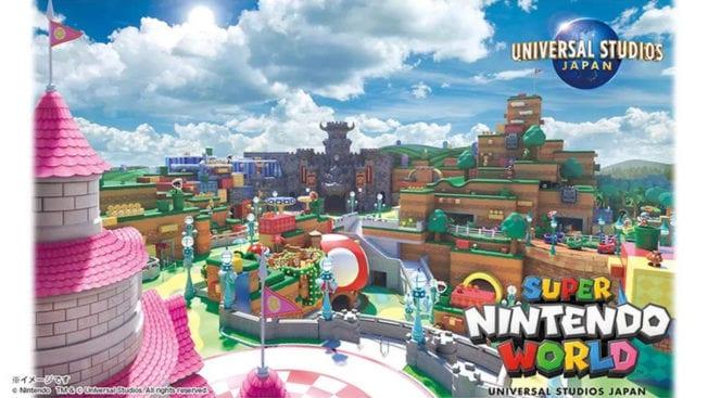 Super Nintendo World -Freizeitpark Eröffnung