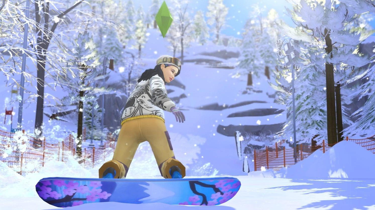 Die Sims 4 Ab ins Schneeparadies Gameplay Trailer