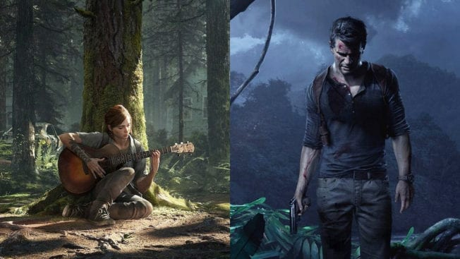 PS5 Naughty Dog The Last of Us 2 Uncharted