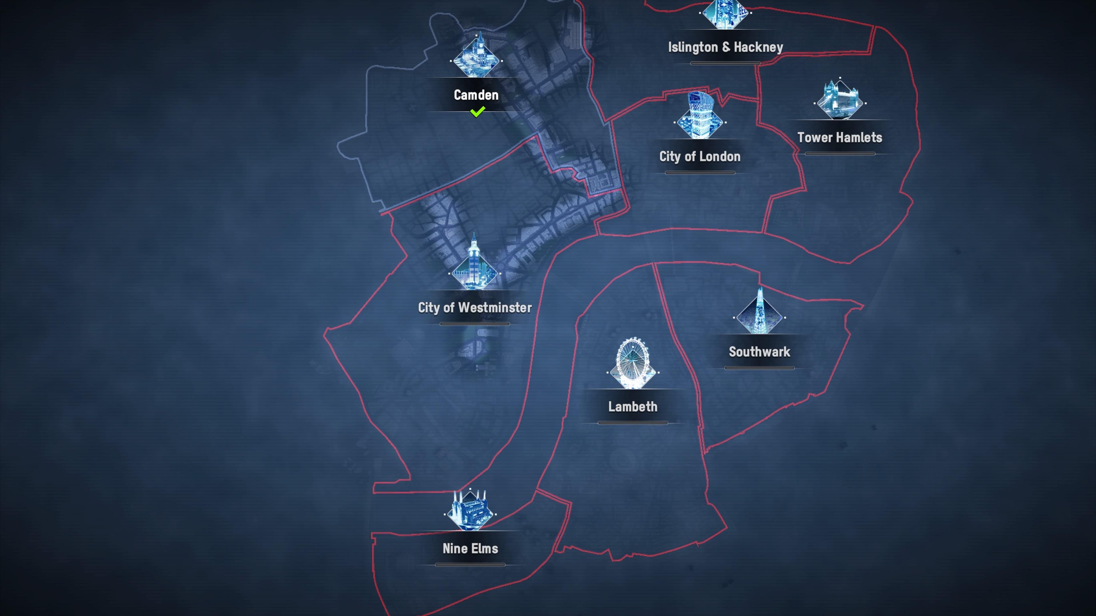 Watch Dogs Legion Karte