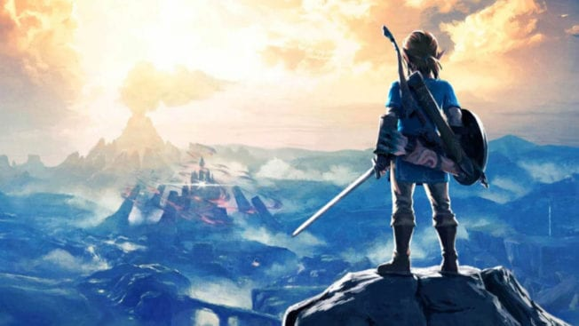 Hyrule aus Zelda Breath of the Wild in Hyrule Warriors Map
