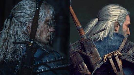 The Witcher Netflix Geralt Videospiel