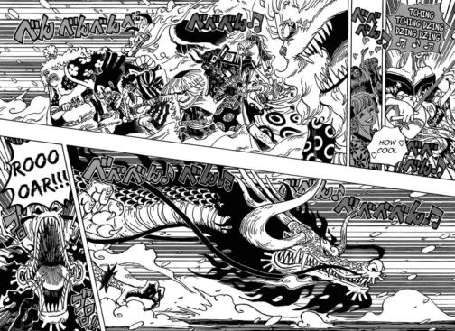One Piece, Manga, Kapitel 992, Akazaya vs. Kaido