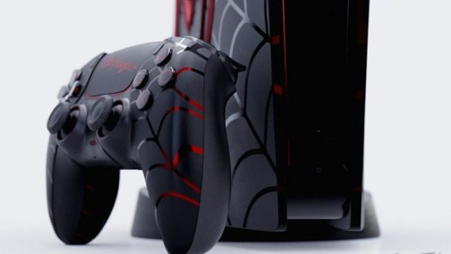 PS5 Spider-Man Miles Morales Design Limited Edition
