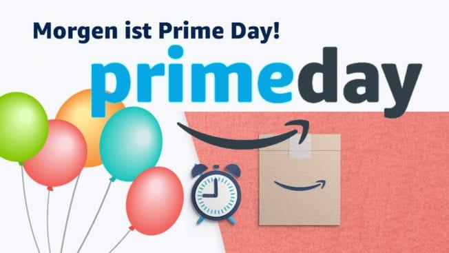 Amazon Prime Day Start Deals Morgen