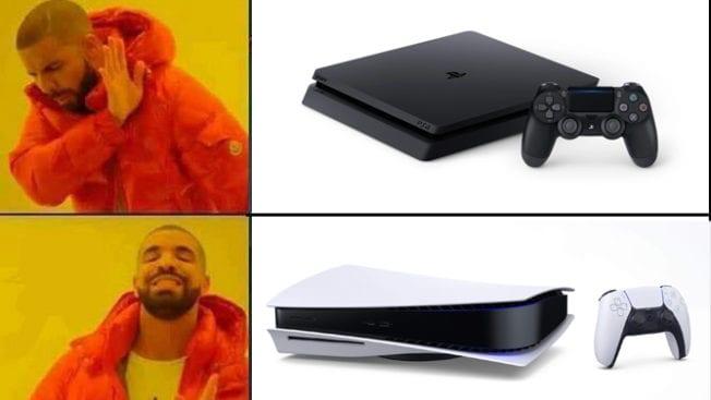 PS5 versus PS4 Hype