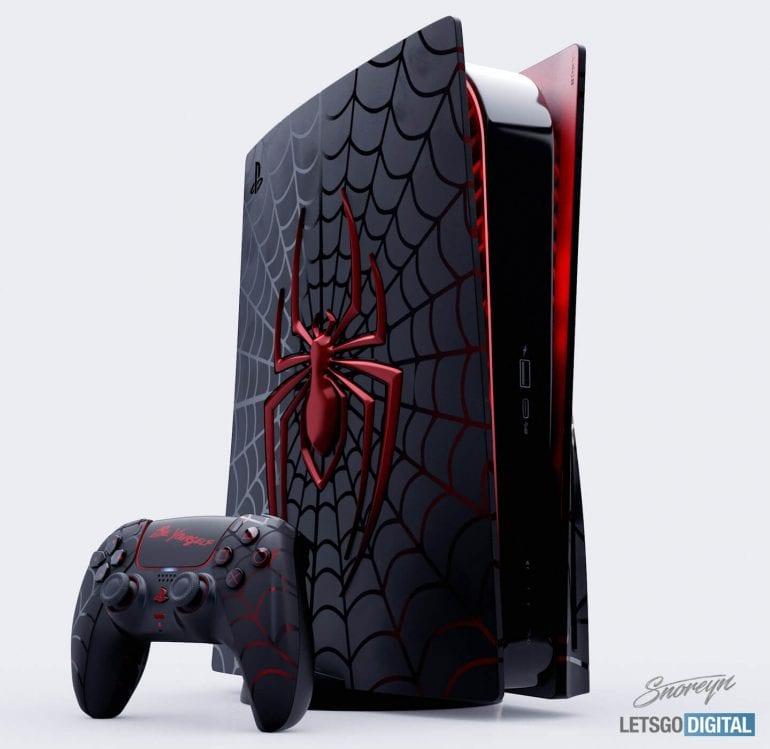 PS5 Spider-Man Design limitiert