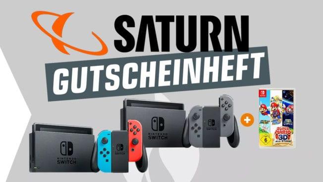 Saturn Gutscheinheft Aktion Switch Fernseher