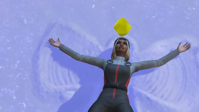 Ab ins Schneeparadies Sims 4