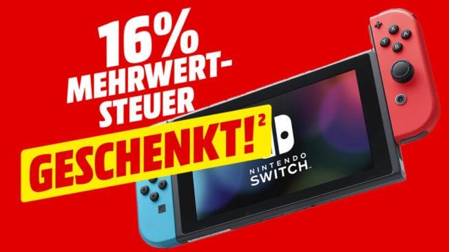 Nintendo Switch Media Markt Angebot Tiefpreis