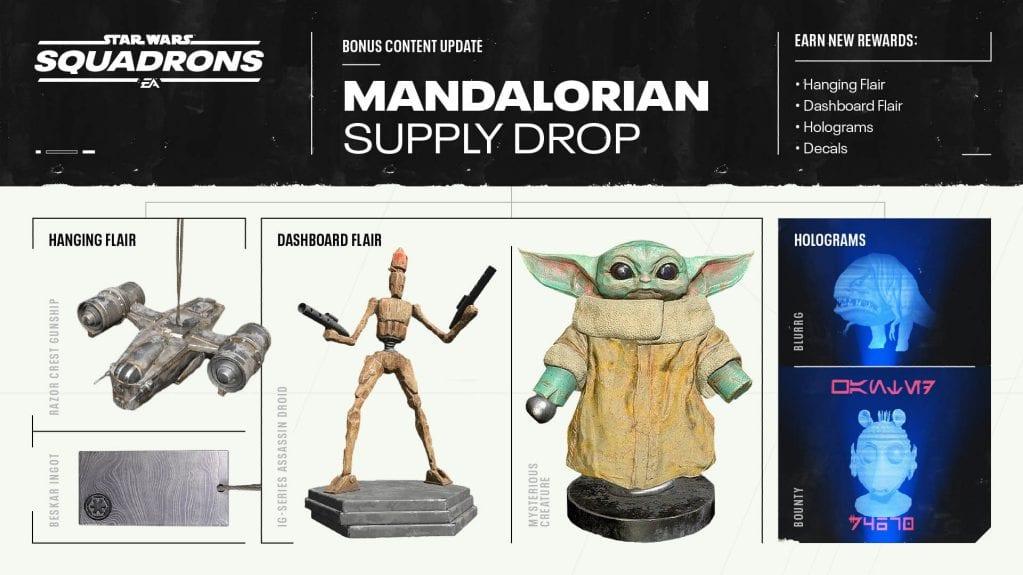 Mandalorian Supply Drop für Star Wars Squadrons