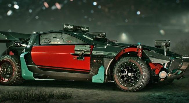 Cyberpunk 2077 Vehikel Auto Fahrzeuge