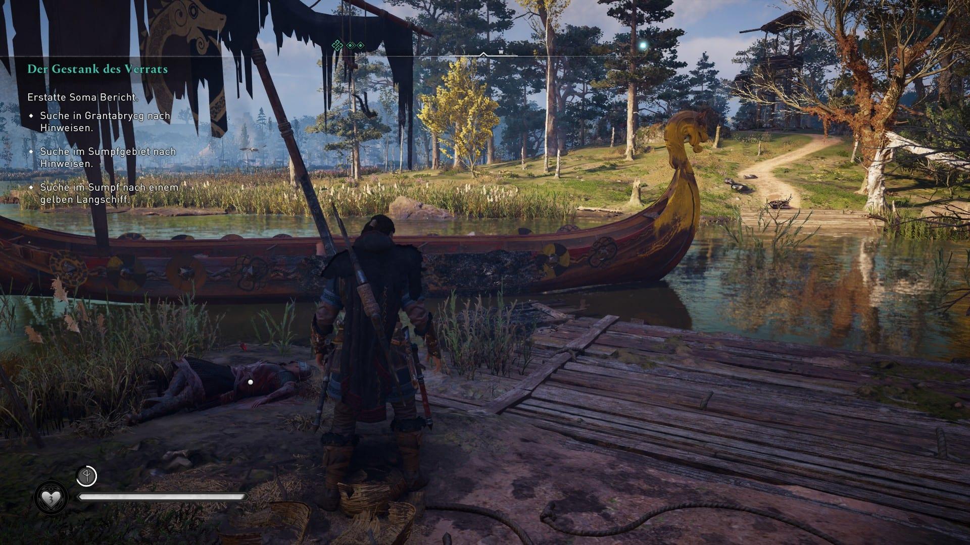 Assassin´s Creed Valhalla, das Langboot aus Das Lied von Soma