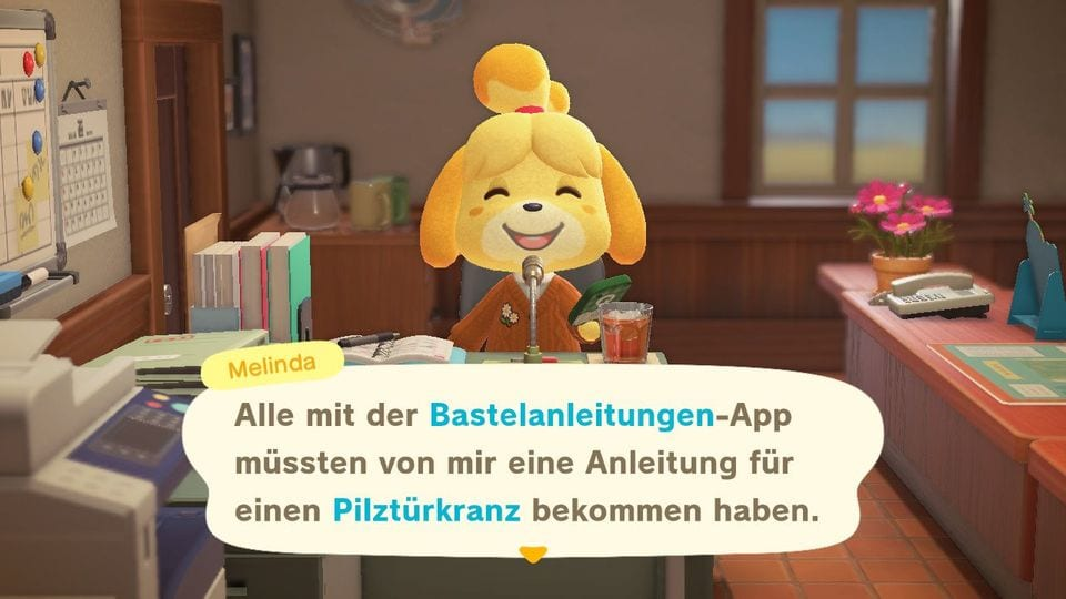 Animal Crossing New Horizons Pilz Rezept Fundort