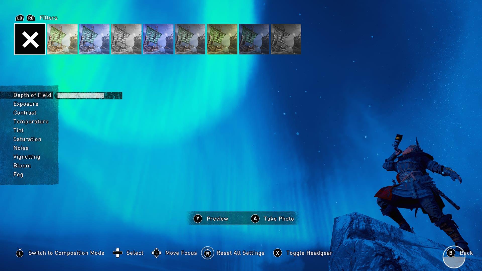 Assassin's Creed Valhalla Photo Mode