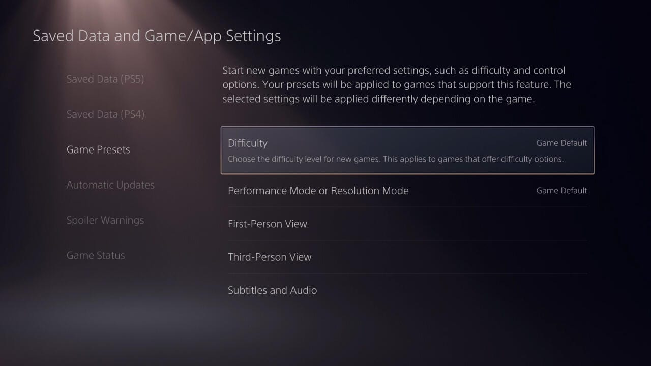 PS5 - versteckte Features bieten Verbesserung