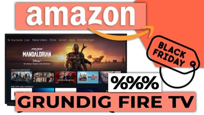 Amazon Grund Fire TV Sale Angebot Black Friday