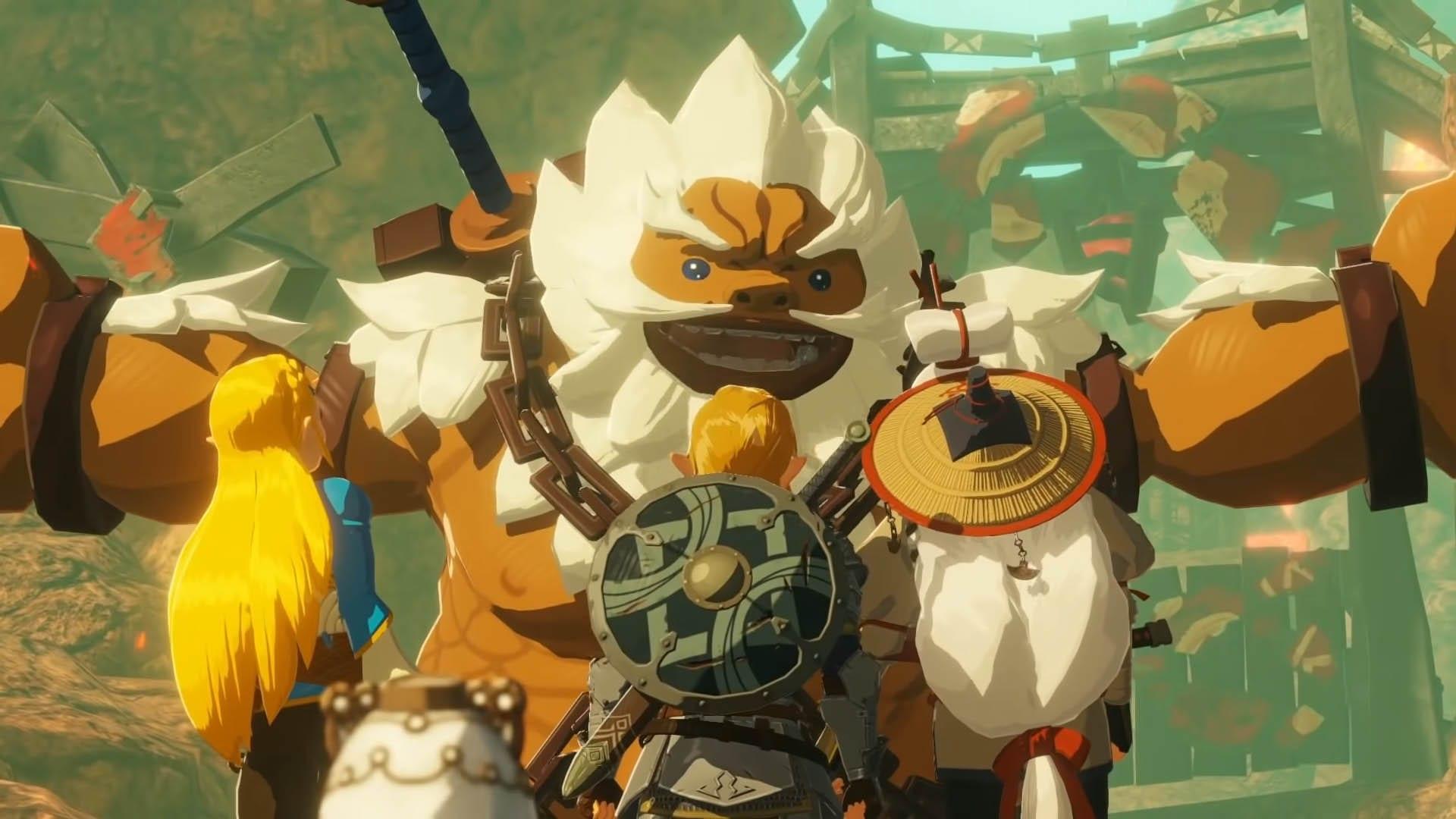 Auf Abenteuer mit Daruk, Link, Zelda und Impa in Zeit der Verheerung