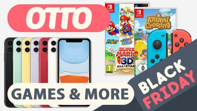 Black Friday Deals bei Otto.de Games Smartphones