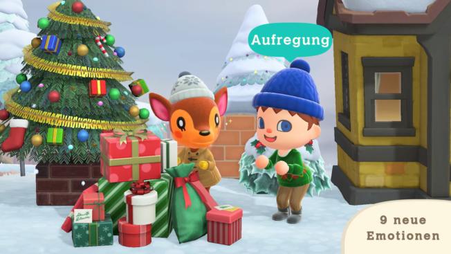Animal Crossing New Horizons - WInter-Update