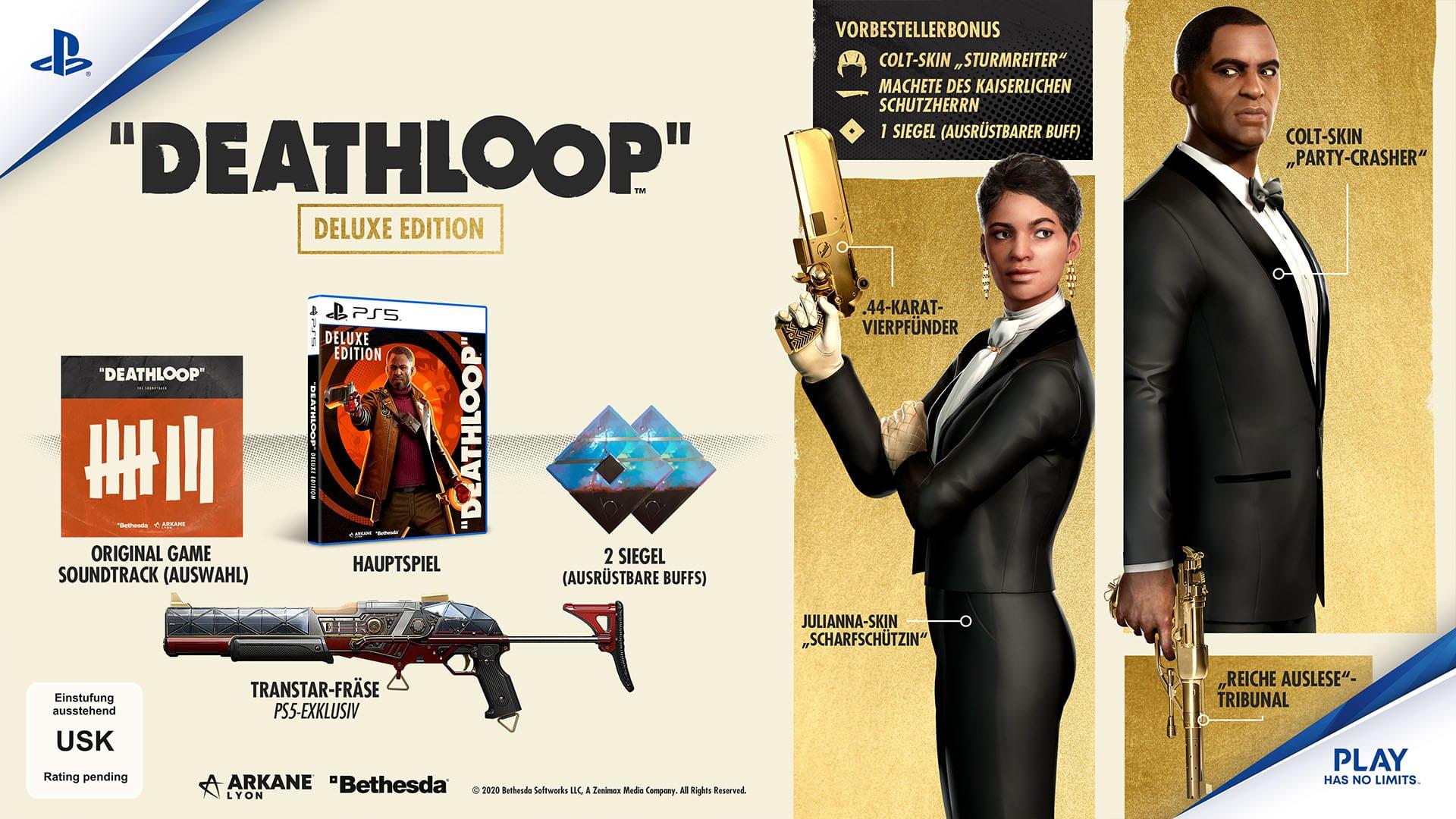 Deathloop Vorbestellen Deluxe Edition