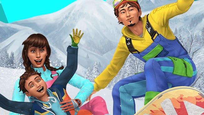 Die Sims 4 Ab ins Schneeparadies Cheats Lebensstil