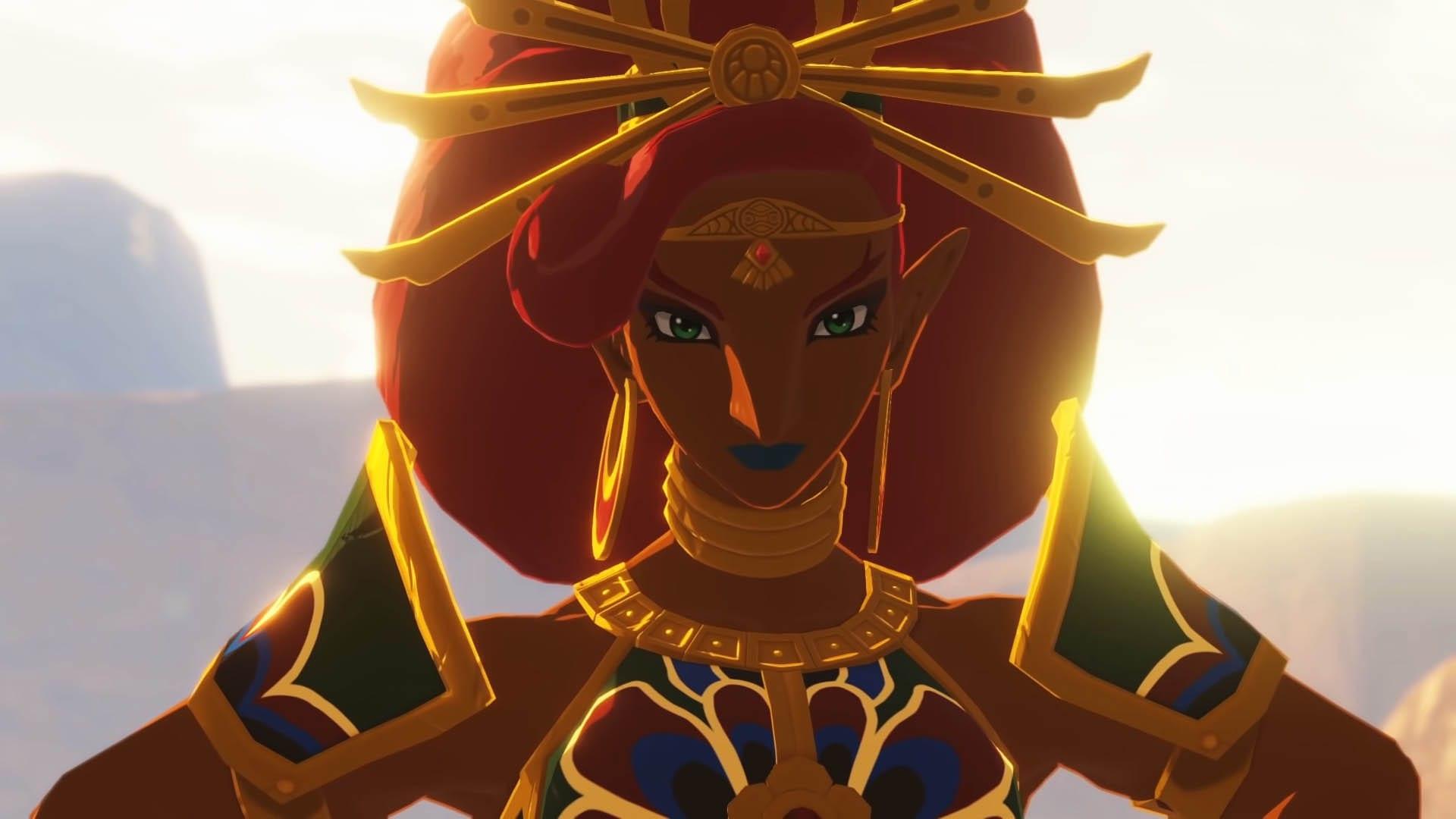 Gerudo-Königin Urbosa in Zeit der Verheerung