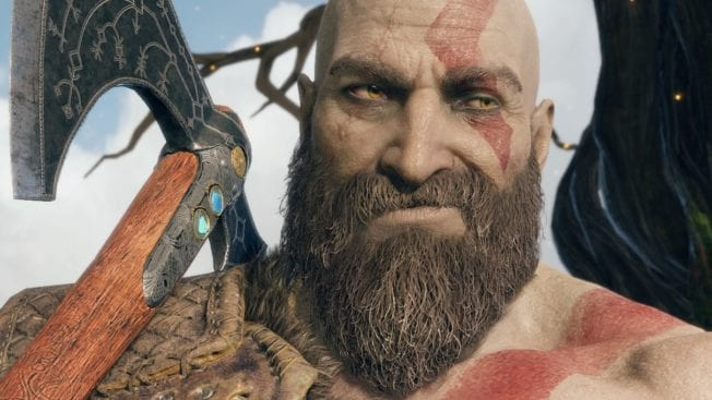 God of War Kratos Bart