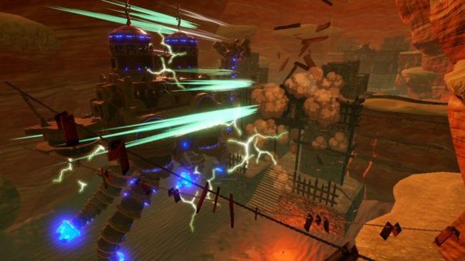 Hyrule Warriors Zeit Verheerung Titan Vah Naboris
