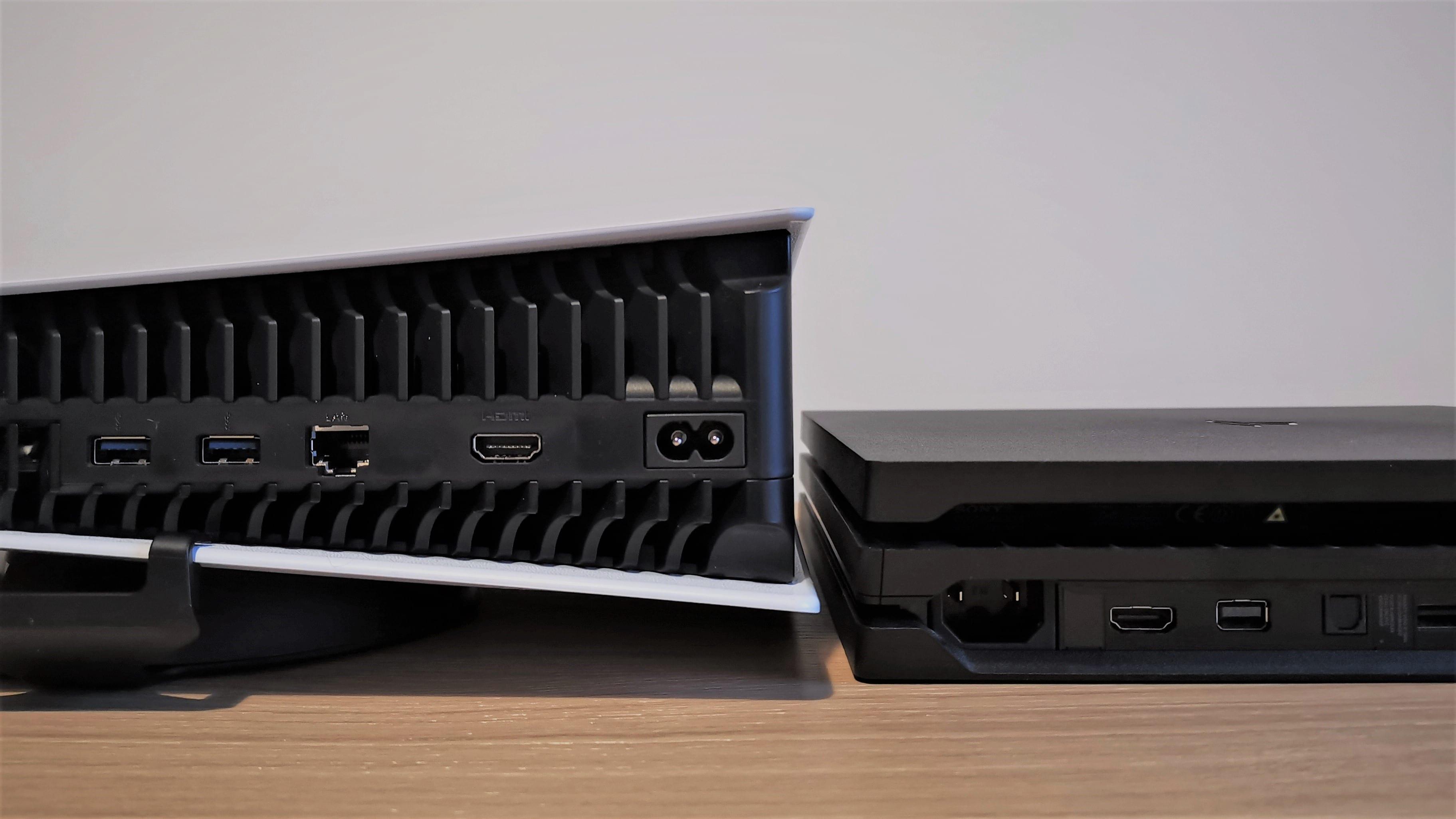 PS5 PS4 Wärme Lautstärke
