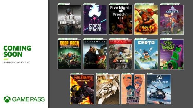 Xbox Game Pass - November 2020