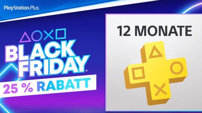 PS Plus im Black Friday-Angebot
