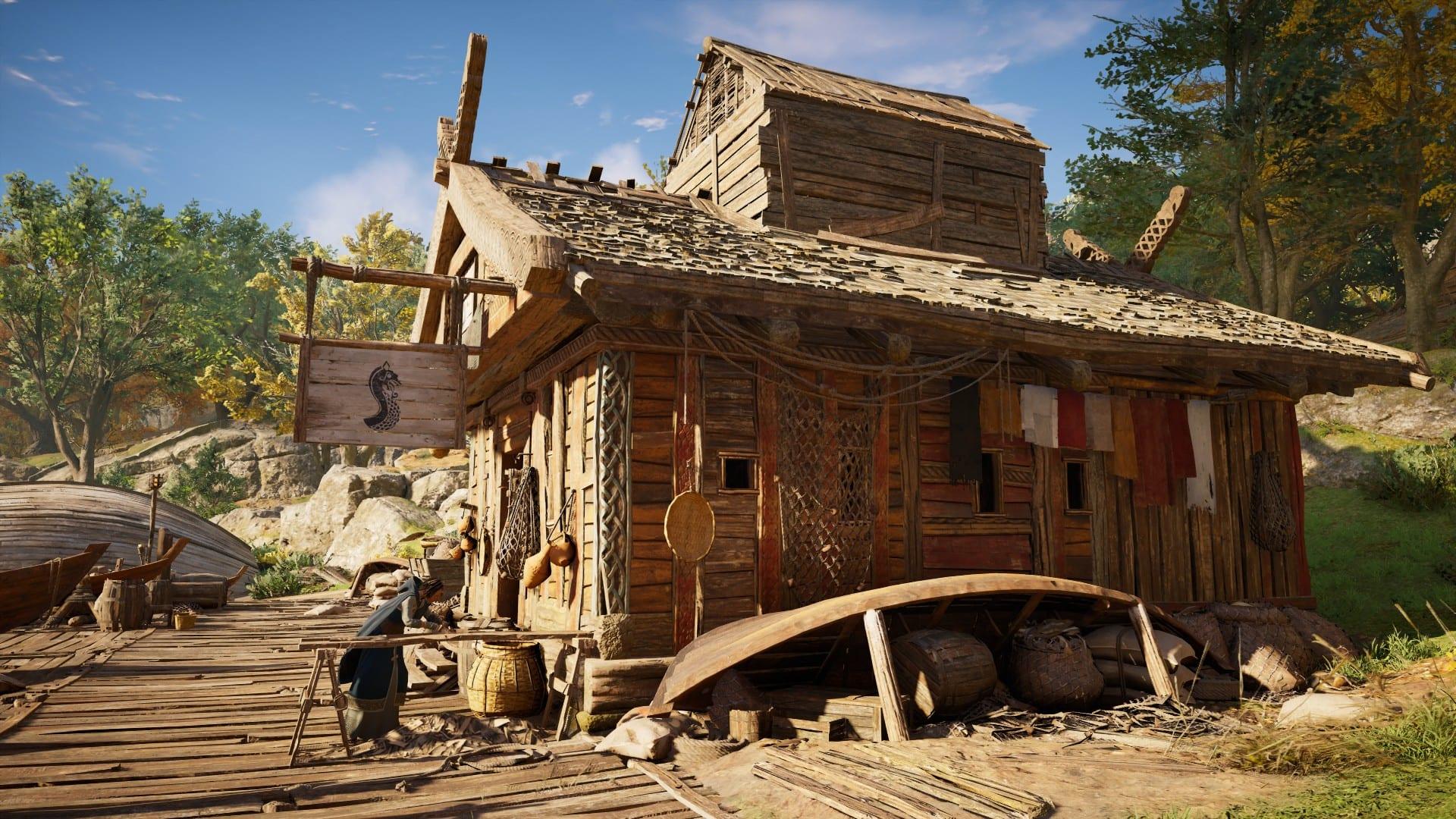 Assassin's Creed Valhalla - Schiffswerkstatt