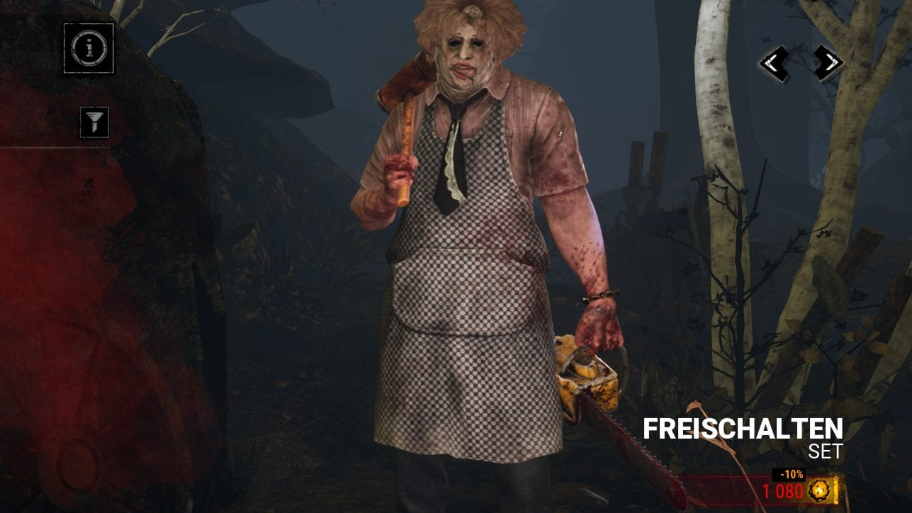 Dead by Daylight Alte Dame Old Lady Leatherface