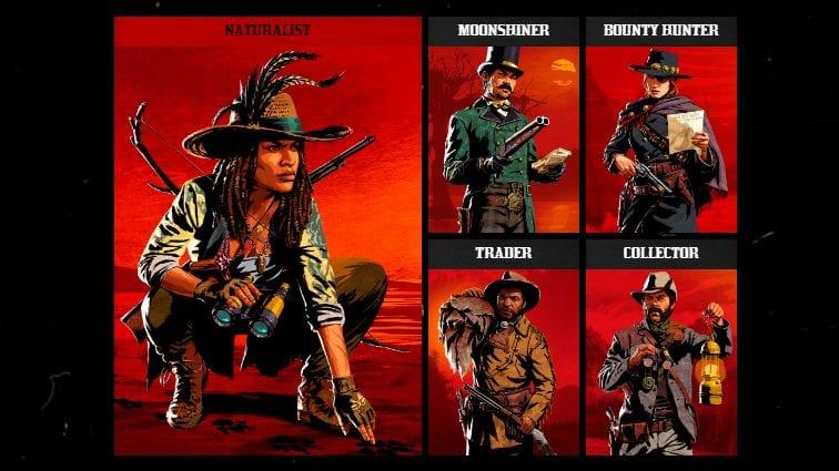 Red Dead Online Rollen