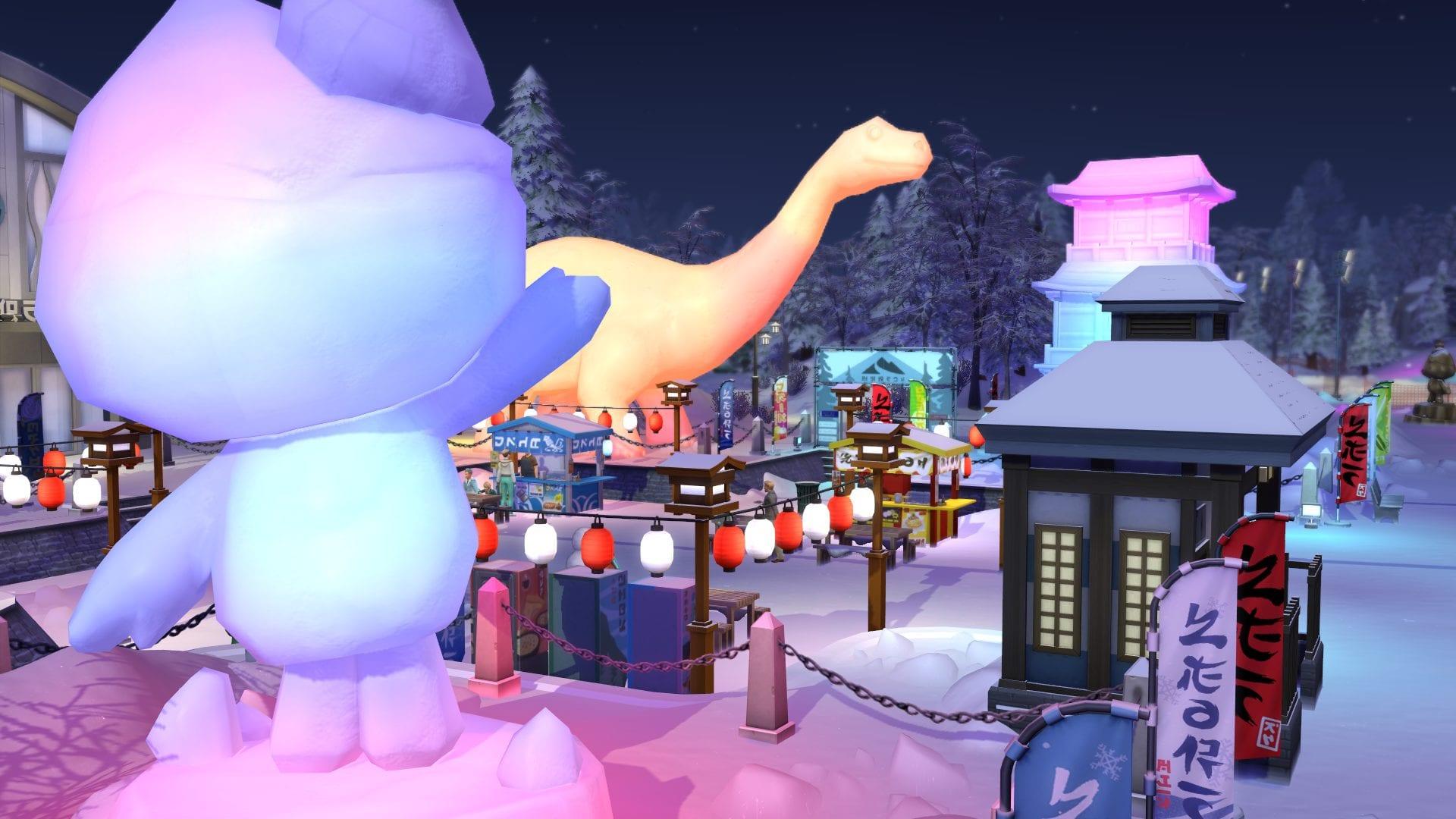 Sims 4 Ab ins Schneeparadies Festival Event