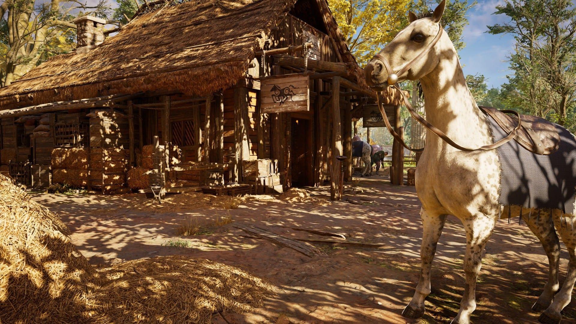 Assassin's Creed Valhalla - Stall und Vogelhaus
