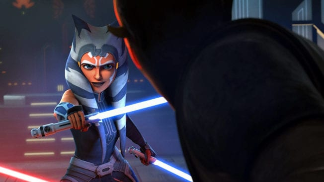 The Mandalorian Staffel 2 - Ahsoka Tano vs Maul