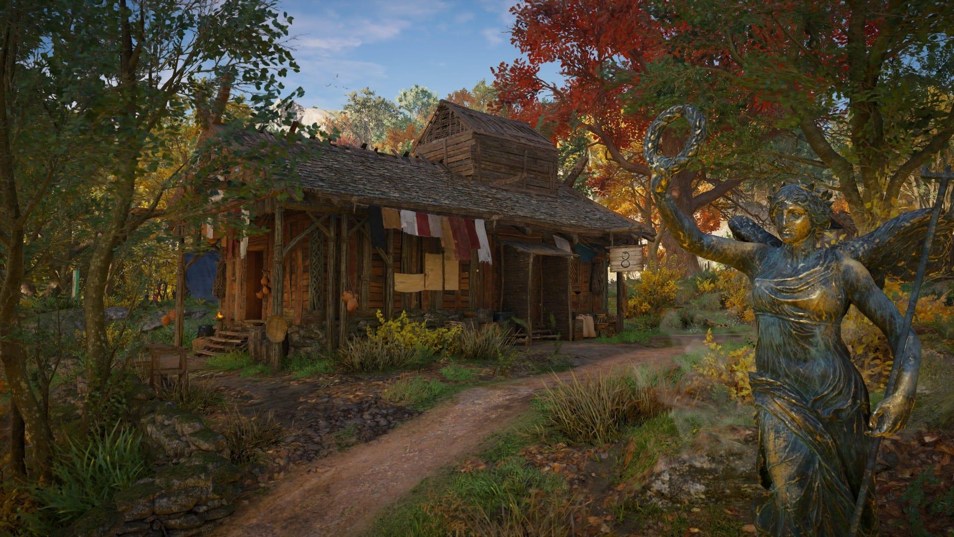 Assassin's Creed Valhalla - Tätowierwerkstatt