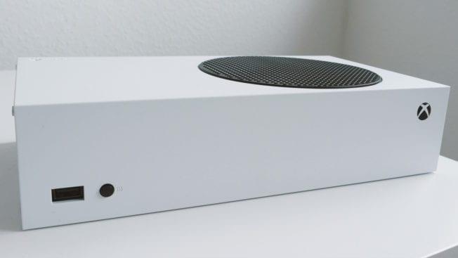 Xbox Series S - Vorderansicht