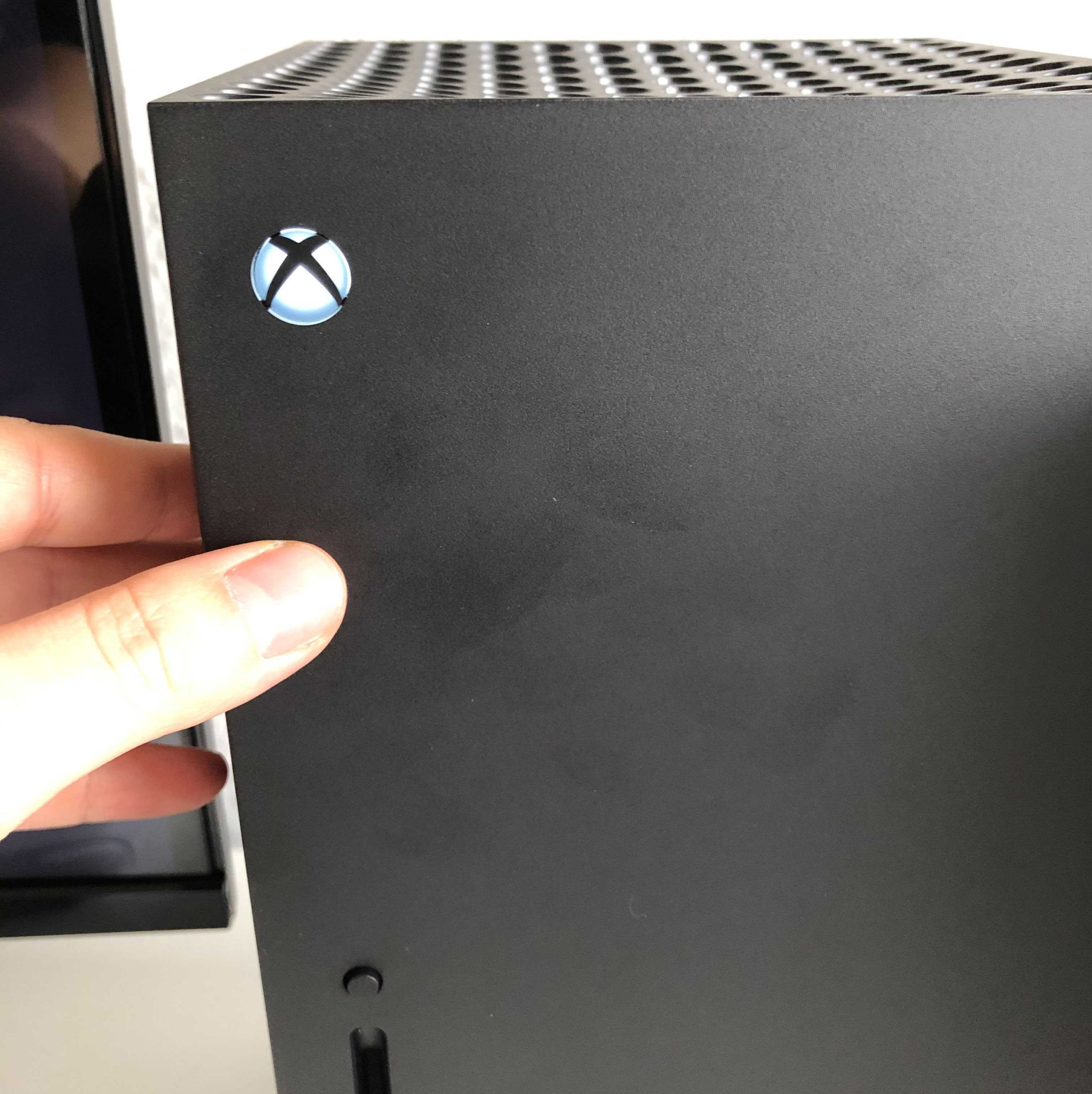 Xbox Series X - Fingerabdrücke