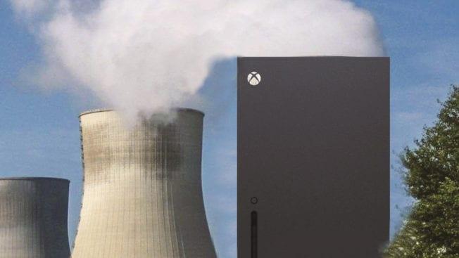 Xbox Series X - Rauch und Dampf