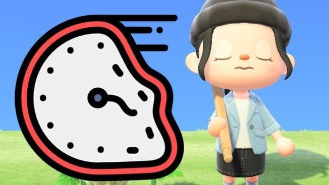 Animal Crossing New Horizons Zeitreisen verboten