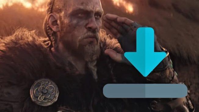 Assassin's Creed Valhalla Preload Dateigröße