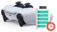 PS5 Controller DuaSense Akku Dauer